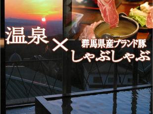 ★冬割25%OFF★【温泉×ブランド豚しゃぶしゃぶ】 写真