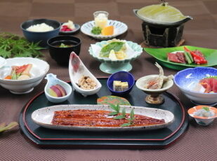 <GoTo対象>【グレードUP】国産鰻の長蒲き膳の1泊2食付 写真