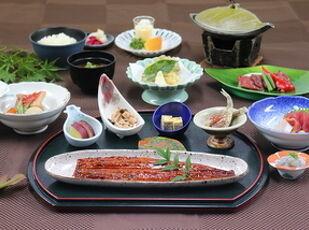 【グレードUP】国産鰻の長蒲き膳の1泊2食付 写真