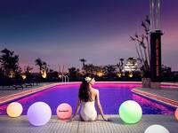 Night Pool Resort Stay