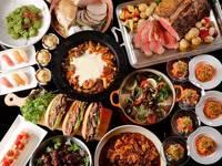 季節のメニュー満載!ご夕食&ご朝食もビュッフェスタイルステイ