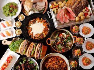 季節のメニュー満載!ご夕食&ご朝食もビュッフェスタイルステイ 写真