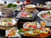 【スタンダードプラン】当館一番人気!鮑踊り焼き+お肉料理