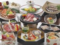 当館一番人気!鮑踊り焼き+お肉料理&新鮮な海の幸も!