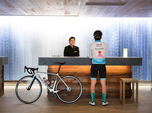愛車と行く、サイクリスト宿泊プラン 写真