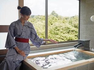 マリオットが提案する温泉付客室での過ごし方 写真