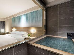 温泉付き客室×お部屋食のゆったり旅 写真