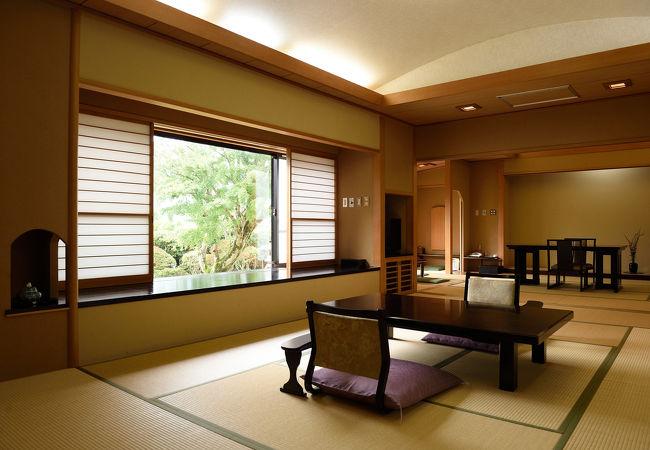 仙石原温泉 料亭旅館 いちい亭 写真