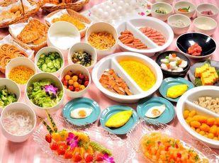 【人気No.1!】選べる30種類の朝食バイキング♪1泊朝食付 写真