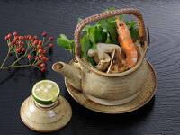 10・11月限定 秋の味覚松茸土瓶蒸しと京風創作会席を味わう