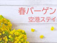 【春バーゲン/7,000円~】空港ステイプラン