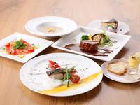 【山形県民泊まって応援キャンペーン】季節の食材コースディナー