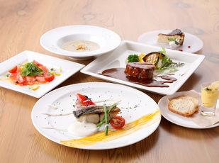 【山形県民泊まって応援キャンペーン】季節の食材コースディナー 写真