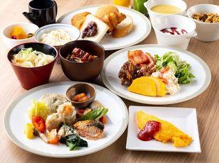 なごやめしの和洋ブッフェ朝食付きプラン 写真