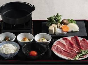 GoTo対象【2食付】A5ランク近江牛の【松】すき焼き御膳付 写真