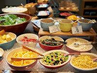 【朝食付】約30種類の身体に優しい和洋ブッフェご朝食付プラン