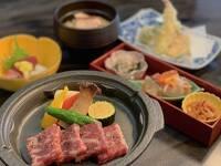 【夕食グレードアップ】国産牛陶板焼きを優雅に味わう♪