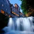 写真:絶景露天風呂と貸切風呂が自慢の宿 東山温泉 庄助の宿 瀧の湯