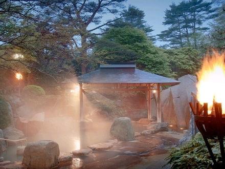 秋保温泉 篝火の湯 緑水亭 写真