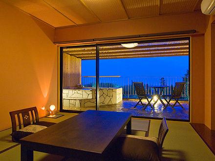 伊豆 全室露天風呂付き客室 ほまれの光 水月 写真