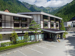 新穂高温泉のホテル