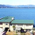 天橋立を横一文字に望む浜辺の宿 長浜荘 写真