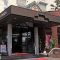 仙人と天女の露天風呂 昭和レトロなスパホテル 高砂温泉 写真