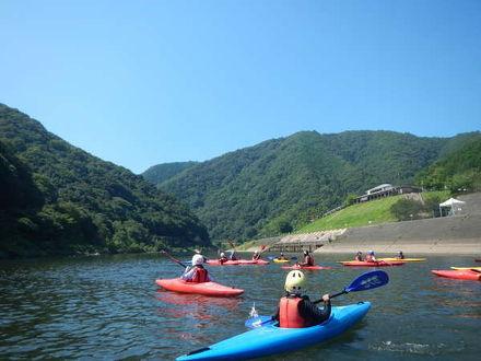 江の川カヌー公園さくぎ 写真
