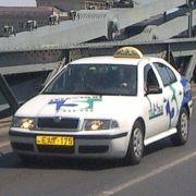 ブダペストのタクシー