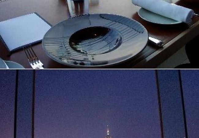 夜景が綺麗~! SPOON by Alain Ducasse