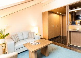 リビング ホテル デ メディチ 写真