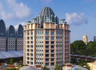 リゾーツ ワールド セントーサ クロックフォーズ タワー 写真