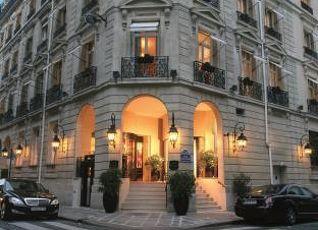ホテル バルザック シャンゼリゼ パリ 写真