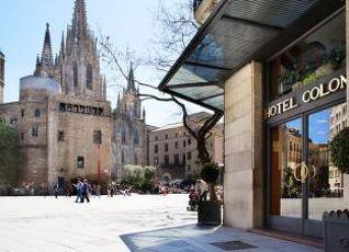 コロン ホテル バルセロナ 写真