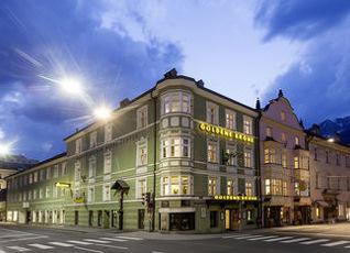 ホテル ゴールデン クローネ インスブルック 写真