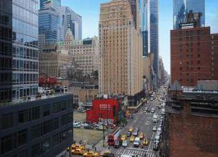 エコノ ロッジ タイムズスクエア ニューヨーク 写真