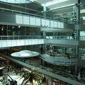 空港内のDubai International Hotel
