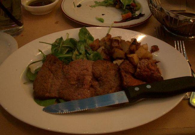Lombardi's Romagna Mia はお洒落なレストラン。