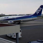 石垣空港で飛行機を間近に観る