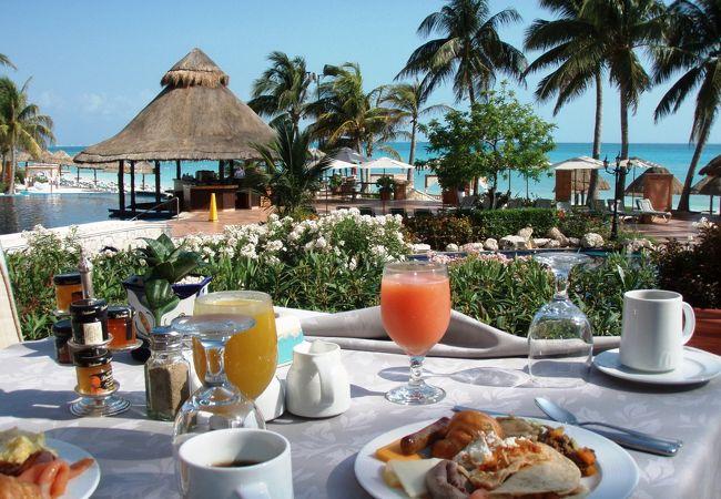 最高の眺めとおいしい朝食「Vina Del Mar」