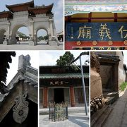 甘粛省天水の伏羲廟