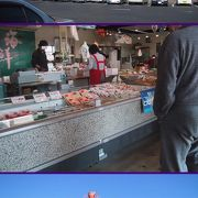 道の駅・ポート赤碕−新鮮な魚が手に入ります
