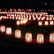 鶴ヶ城の絵ろうそくまつりへ行って来ました。