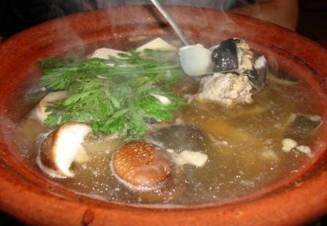 まる鍋/からすみ/日本酒