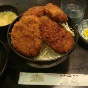 ボリューム満点★ガロのソースカツ丼