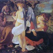 カラバッジオやラファエロの作品に出会える静かな美術館