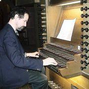 ペータース教会でパイプオルガンを私のためだけに弾いてくれた