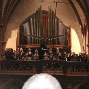 ペータース教会での本格的なコンサート