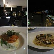 フィオーレ−全日空ホテルクレメント高松20階にあるスカイレストラン・夜景を楽しみながらイタリアン