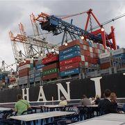 貿易港なので、、